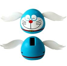 Solar swing doll cat with wing
