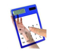 Touch translucent calculator